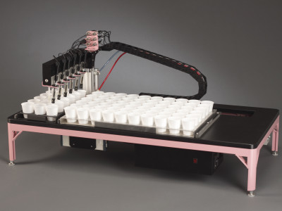 Six Channel Automated pH Robot